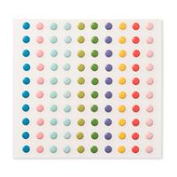 Süße Pünktchen  in den Pastellfarben darunter auch Aquamarin