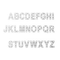Thinlits Beeindruckende Buchstaben